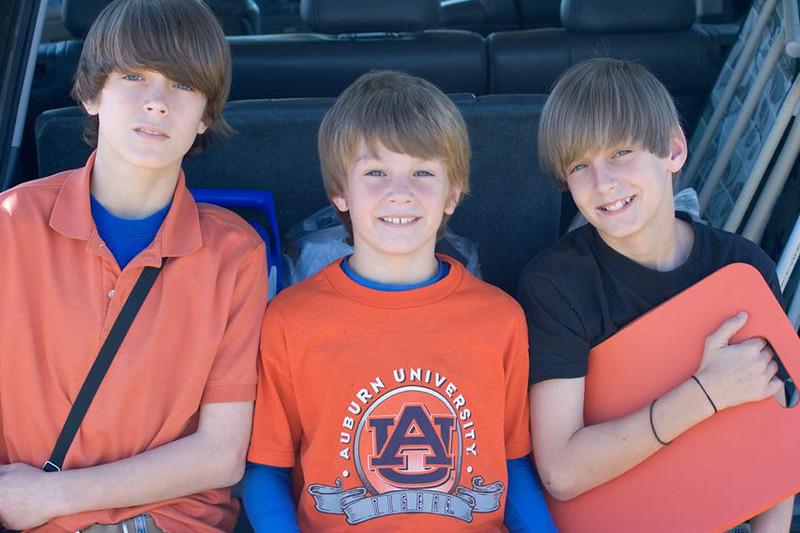 Jonah, Benjamin and Seth