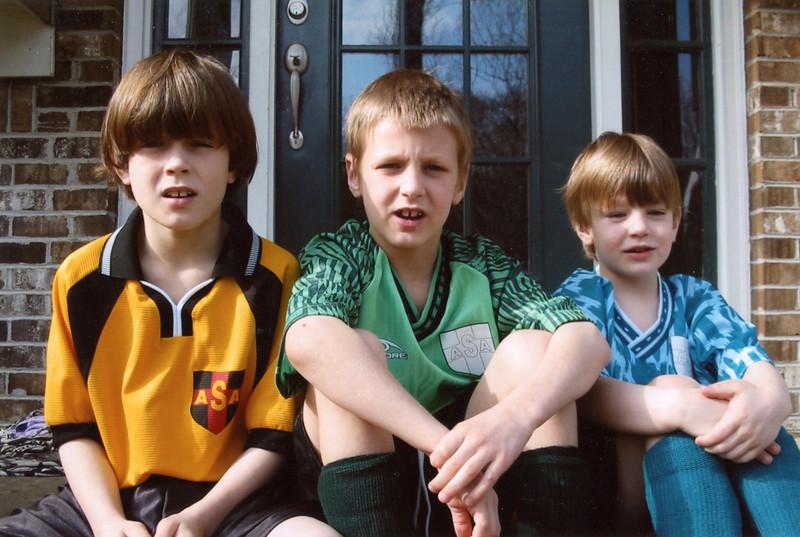 Jonah, Seth, Benjamin