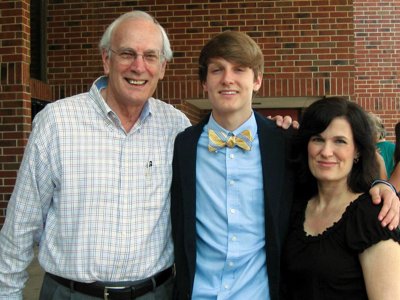 """Seth's Honor Society Celebration - March 2012"""