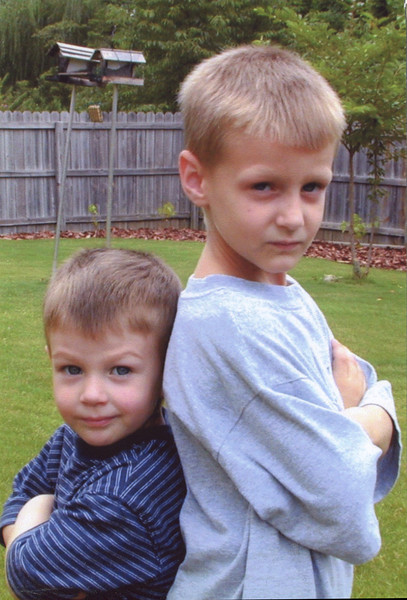 Seth and Benjamin - 2001