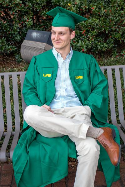 Seth Graduates UAB - 2017