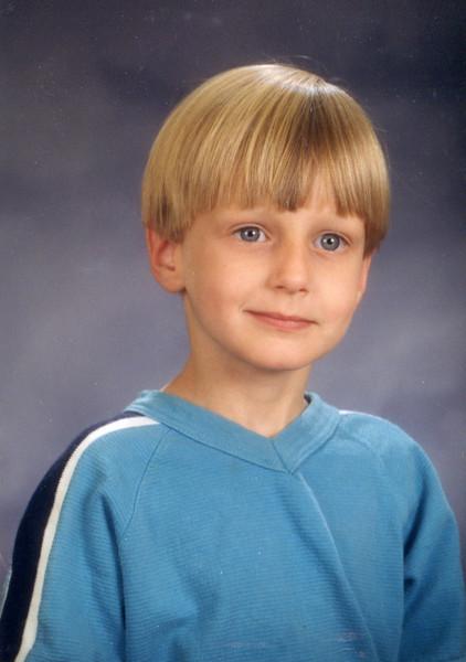Seth - Kindergarten: September, 1999 (age 5)