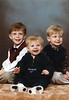 Jonah, Benjamin and Seth Grice<br /> November, 1998