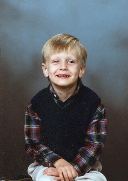 Seth Grice<br /> November 1998<br /> Age 4