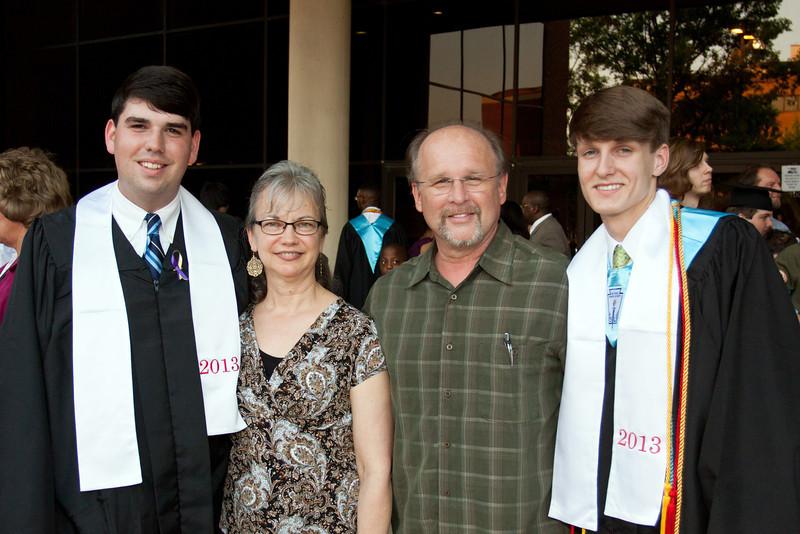 Seth & Joseph Graduate<br /> May 2013