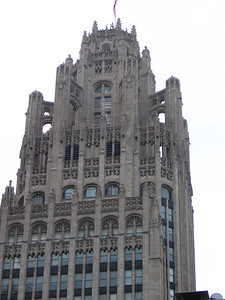 The great Chicago Adventure- Tribune Bldg