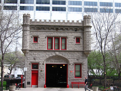 The great Chicago Adventure- Fire Hall