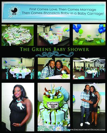 The Green's Baby Shower