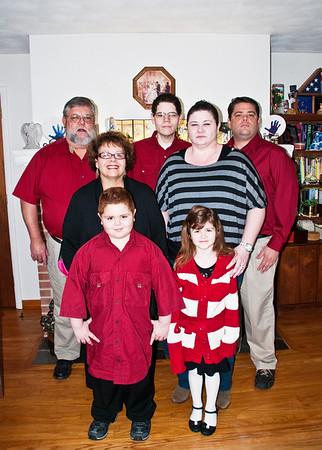The Guebert Family 2012