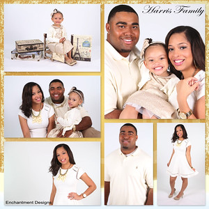 Harris Family Collage