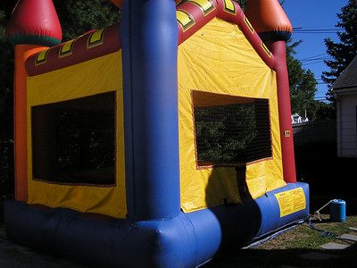 The Bounce House at Haucktoberfest