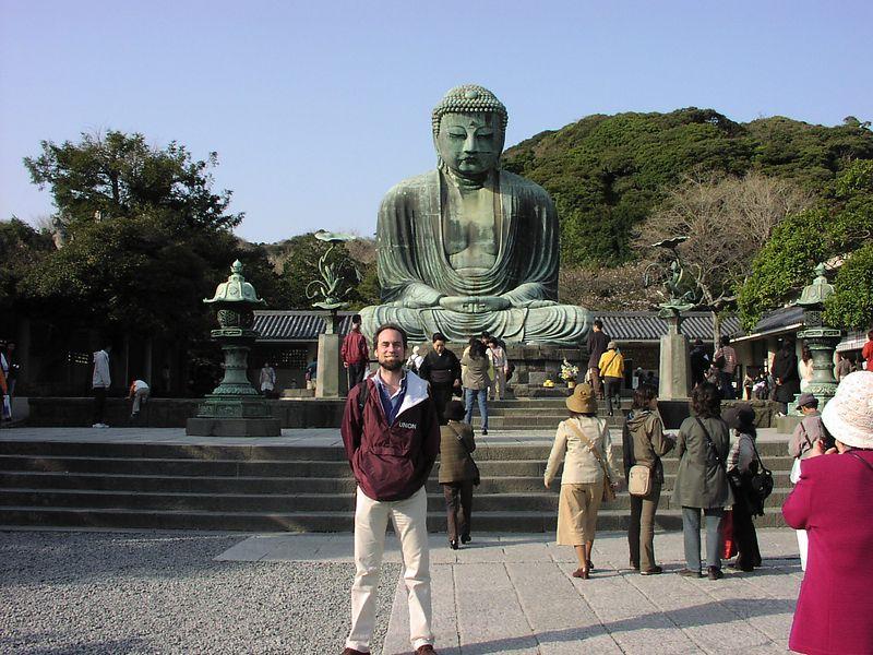 Daibutsu - the big Buddha, in Kamakura