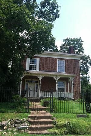 The Henegar Homestead in Cleveland TN