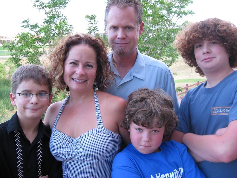 Michael, Shawna, Dean, Jack & Robin Hinton