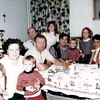 Ron's parents, sister Bobbi, Daughters Cheryl, Gayle and Wanda. Ron and sons Jim and Chris