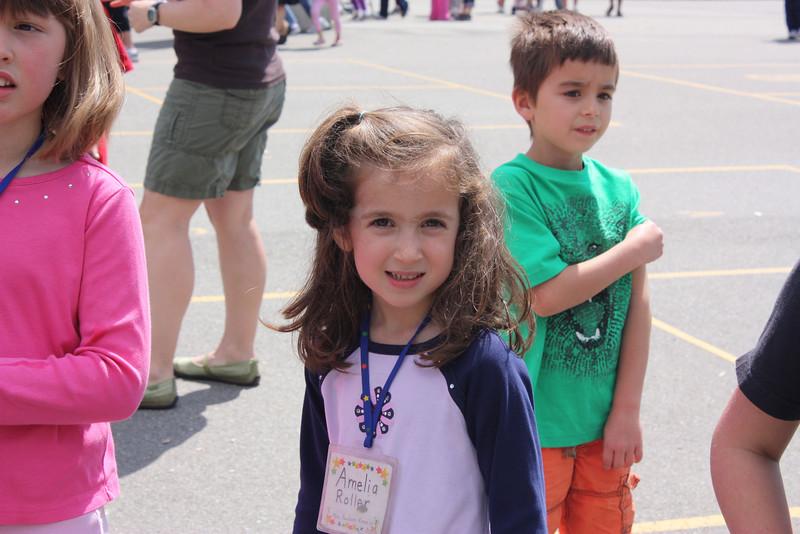 Amelia's Kindergarten Graduation.
