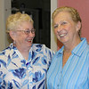 Elsie and Helen at Sylvia's 100th
