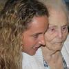 Terry and Sylvia at Sylvia's 100th Birthday