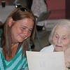Deb and Sylvia at Sylvia's 100th