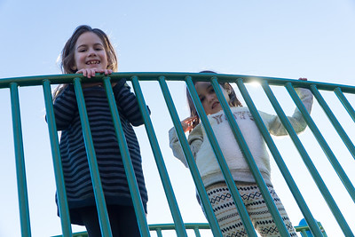 Girl cousins: Charlotte and Amelia.