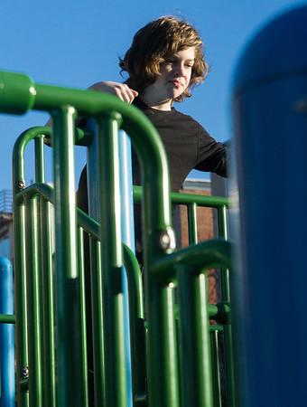 Ben at Underhill Playground.
