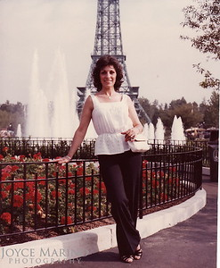 Cousin Shirl at Kings Dominion in 1982.