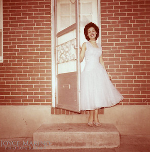 Beautiful picture of Cousin Shirl at 423 Washington Street in Baltimore.  She so looks like her Mom.  Very classy.