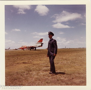 Cousin Ed while in the Air National Guard, July 1962.