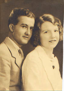 DPB-05: Bill Patterson and Anne Patterson (nee McKeown) USA 1941