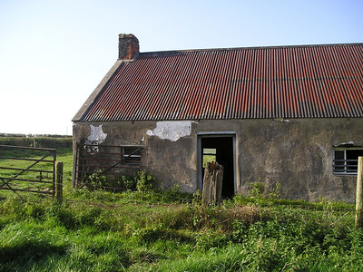 "DPB-105: The McKeown's 1920's family summer cottage - ""The ""Bogs'  Aghalee pictured 2003"