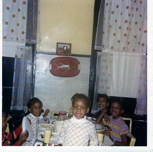 My Siblings-My brothers head Allen,Pamela, Brenda & Jeanette standing my baby sister Sarah