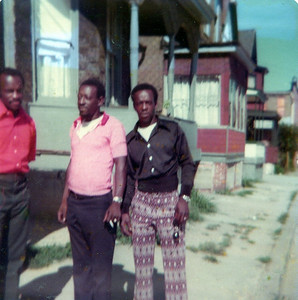 The 3 Amigos...My Uncle James (TeeDee) Uncle Lawrence Crest (deceased) & Oliver (My Dad)
