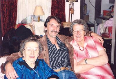 WRM-07: Martha McKeown,  William Robert Moody (Bob)  and Lillie McKeown