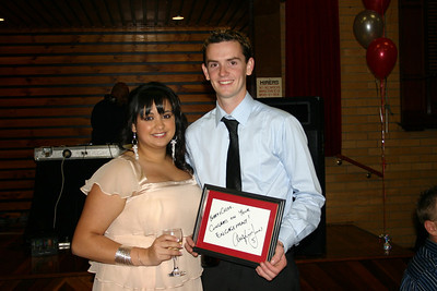 WRM-01: Robert George Moody (Bobby) and Chloe-Lyn Hennequin on their engagement in December 2008 Melbourne Australia