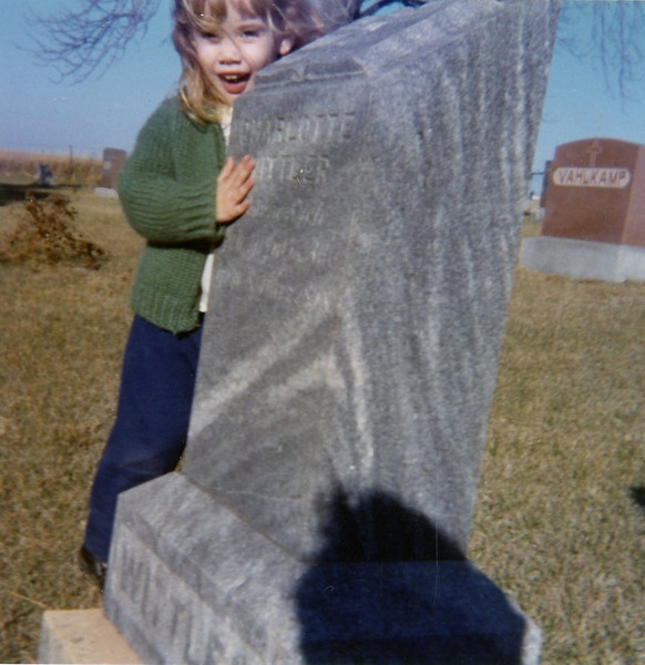 Pam Hursey<br /> Theophilus Cemetery<br /> 1971