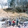 Christine, Seth & Keri Jean Mann<br /> Ponca State Park<br /> 1973 or 74