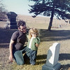 Dick & Pam Hursey<br /> Theophilus Cemetery<br /> 1971