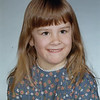 Christine's 1st grade school picture, 1971-72<br /> District 40<br /> Mrs. Harms