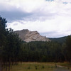 Crazy Horse Memorial mountain<br /> 1974 trip