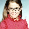 Christine's 3rd grade school picture, 1973-74<br /> District 40<br /> Mrs. Ostendorf