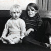 Christine, always an angel to her brother, Seth<br /> 1973
