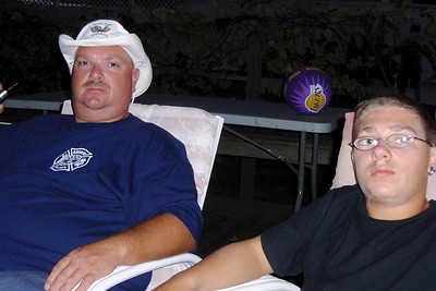 DPB - 255: Robert (Bob) William Patterson with son Kyle William Patterson in summer 2008