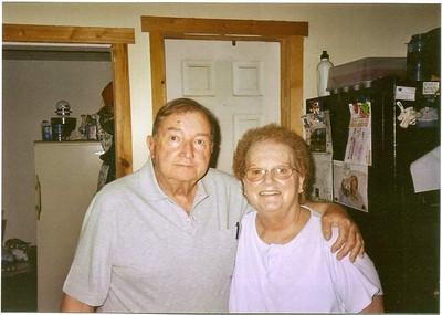 William (Bill) Prescott Patterson and wife Dorothy (Dottie Patterson nee Bowen in September 2009