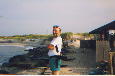 DPB-37 : James (Jimmy) Patterson at Cape May. New Jersey