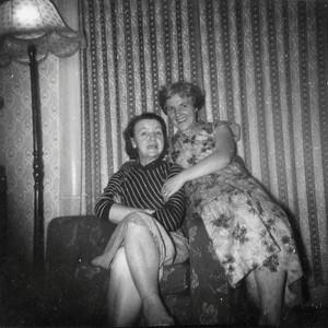 DPB-59: May (Maisie) McKeown and Anne Patterson (nee McKeown) in 1950s