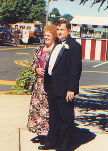 DPB-84: William (Bill) Patterson and Dorothy (Dottie) Patterson (nee Thomas) at William (Billy) Patterson Jnr's wedding in 1995