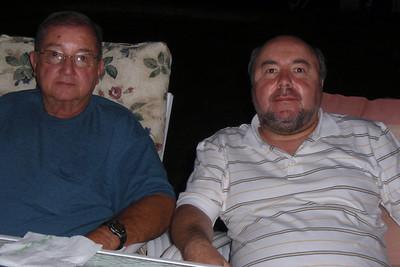 DPB - 253: William Prescott Patterson Snr. and David Prescott Barr in summer 2008