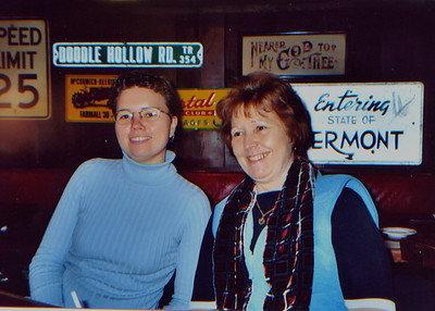 DPB-04: Heather Patterson and Jenny McCullough November 2003 at Poor Henry's Boonton, NJ, USA