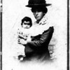 Mary Pickford with her third child, Dorothy.<br /> Wife of George Pickford.<br /> Photo thought to be from 1904.