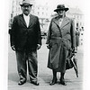 George & Mary Pickford, thought to be in their late 60's or early 70's at time of photo?<br /> Great Grandparents of Derek.